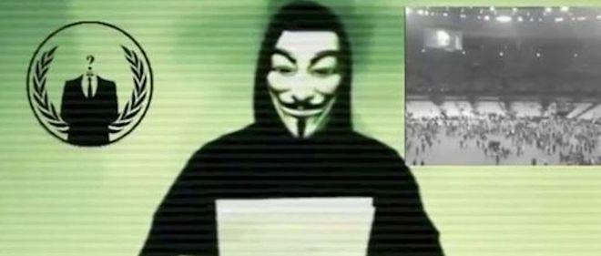 Un Anonymous, photo d'illustration.