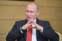 Le président russe Vladimir Poutine, maître du jeu au Moyen-Orient ? ©ALEXEI DRUZHININ
