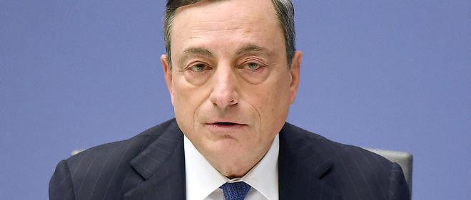 Mario Draghi préfère pour l'instant tenter de relancer le crédit par le système bancaire.