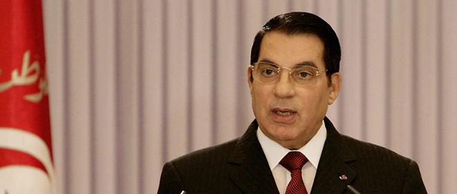 L'ex-président tunisien, ici en 2007, a été condamné par contumace à dix ans de prison.