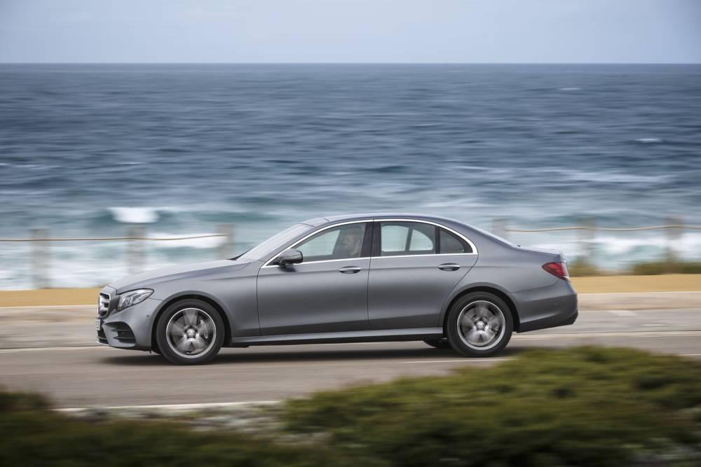 The new E-Class Press Test Drive, Lisbon 2016 © Daimler AG Global Communications Mercedes-Benz Cars DAIMLER