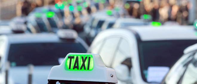 Des taxis, photo d'illustration.
