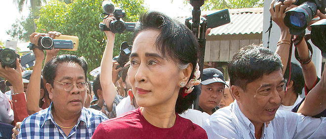 Aung San Suu Kyi, photo d'illustration.
