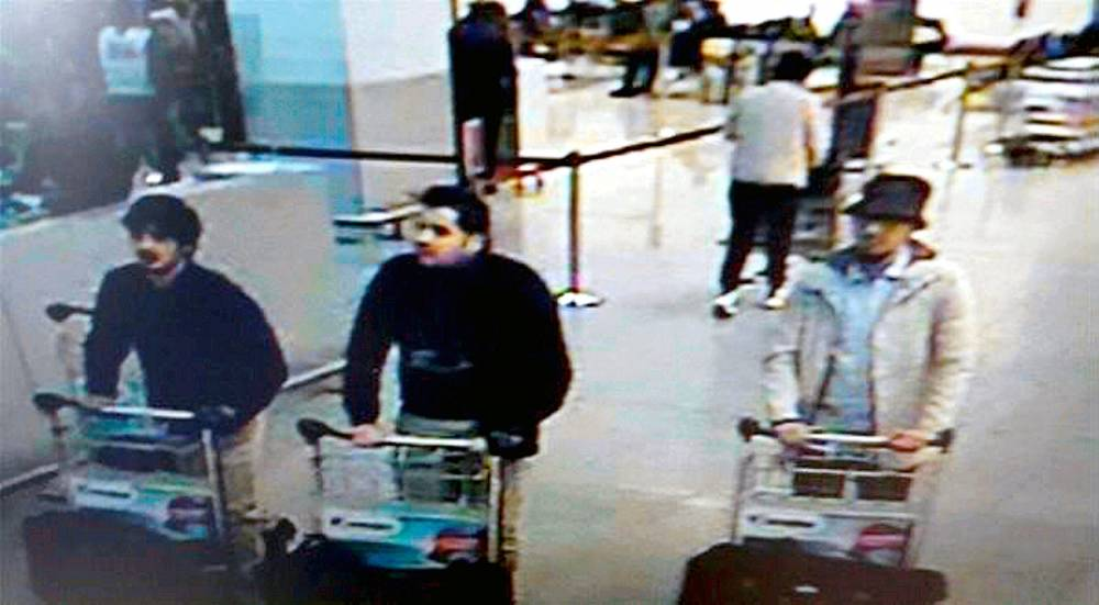 SEARCHING POLICE BRUSSELS ATTACKS © FEDERAL POLICE