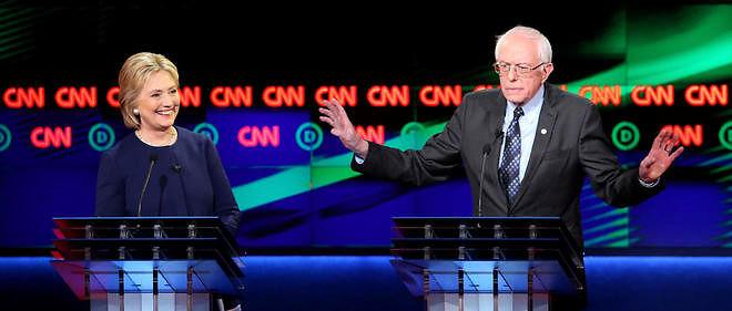 Le sénateur américain Bernie Sanders a largement devancé sa rivale Hillary Clinton.