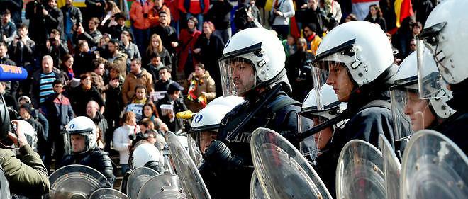 Rassemblement pacifique perturbé à Bruxelles