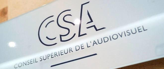 Le logo du Conseil supérieur de l'audiovisuel, Photo d'illustration.