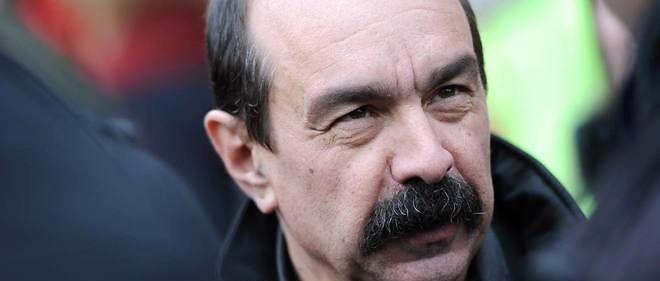 Philippe Martinez confiant sur la mobilisation contre la loi travail.