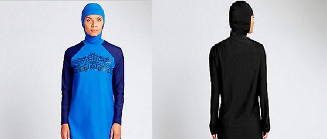 Le burkini récemment mis en vente par la fime britannique Marks&Spencer.