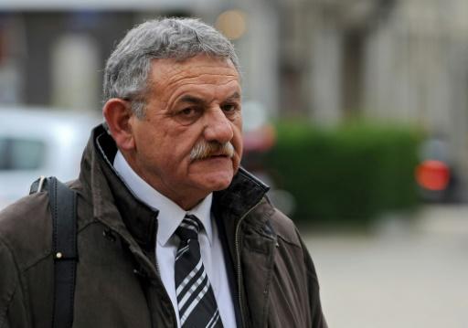 L'ancien maire de La Faute-sur-Mer, René Marratier, le 1er décembre 2015 à Poitiers © GUILLAUME SOUVANT AFP/Archives