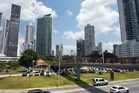 Le quartier d'affaire de Panama city, le 4 avril 2016 ©RODRIGO ARANGUA