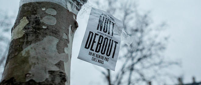 Nuit debout, photo d'illustration.