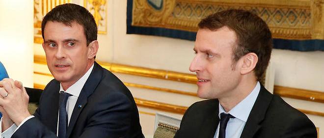 Manuel Valls tacle le mouvement politique de Macron.