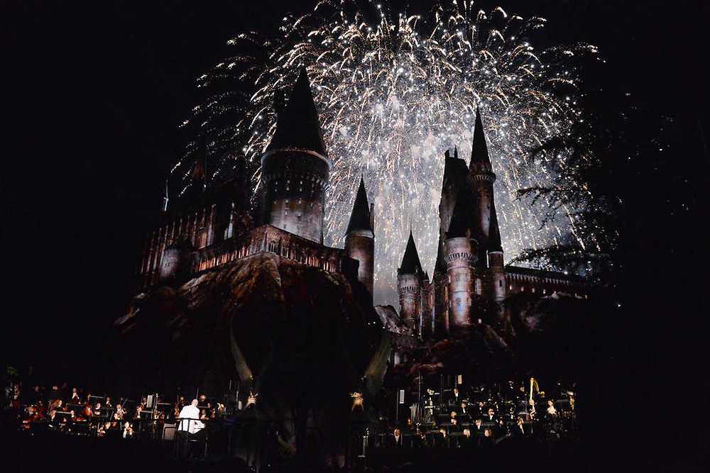 "US-UNIVERSAL-STUDIOS-HOLLYWOOD-HOSTS-THE-OPENING-OF-""THE-WIZARDI"