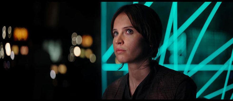 Jyn Erso (Felicity Jones), l'héroïne de Rogue One : A Star Wars Story