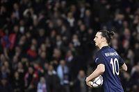 Après sa nouvelle déroute en quart de finale de la Ligue des champions, le PSG pourrait se séparer de certains joueurs, comme le Suédois Zlatan Ibrahimovic. ©MARTIN BUREAU