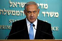 Le Premier ministre israélien Benjamin Netanyahu opérerait un rapprochement avec l'Arabie saoudite. Leur point commun : un ennemi commun, l'Iran. ©THOMAS COEX