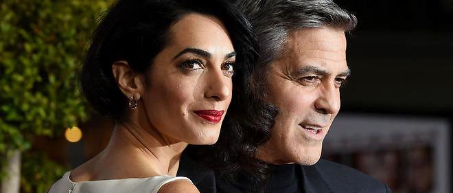 George et Amal Clooney ont organisé deux dîners afin de lever des fonds pour la candidate démocrate.