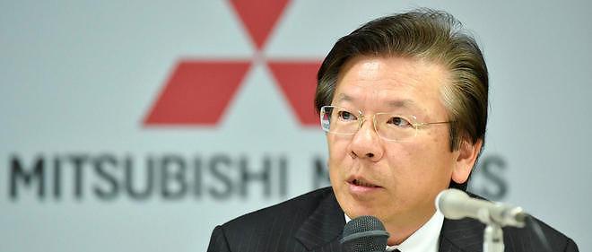 Le président du groupe Mitsubishi Motors,Tetsuro Aikawa.