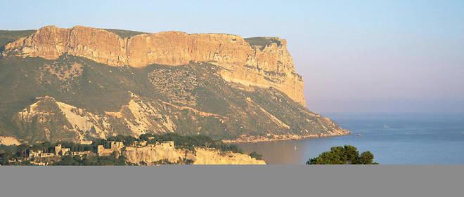 Le cap Canaille, dans les Bouches-du-Rhône.