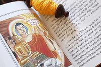 Après une nuit de méditation, les textes bouddhiques rapportent que le prince Siddhârtha Gautamaaurait atteint