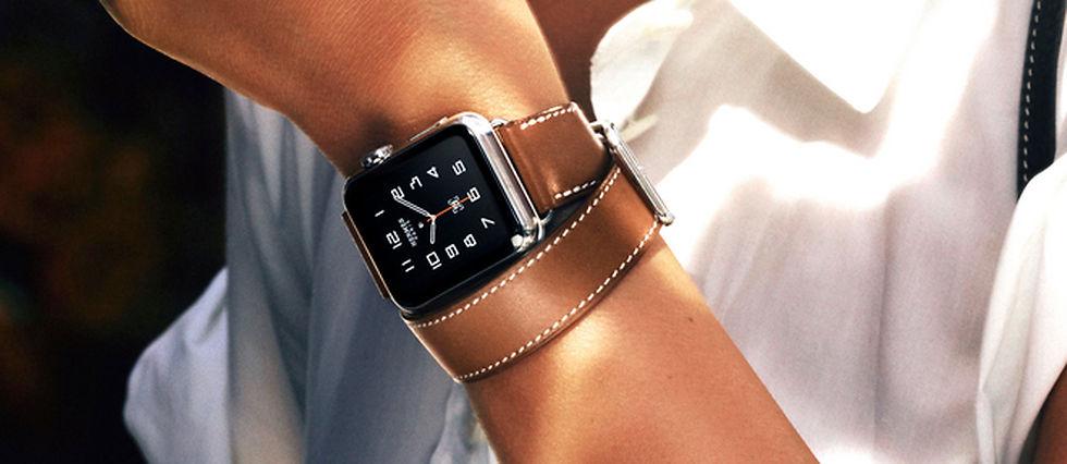 L'Apple Watch Hermès, la montre connectée façon luxe et mode.