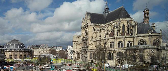La Bourse de commerce va devenir un lieu d'exposition d'art contemporain, achevant ainsi de transformer le quartier des Halles.