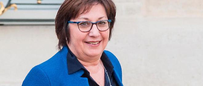 Martine Pinville,secrétaire d'État chargée du Commerce.