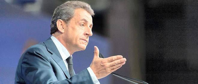 Nicolas Sarkozy présidait une matinée de travail que LR consacrait ce mardi à l'environnement, la mer et l'énergie.