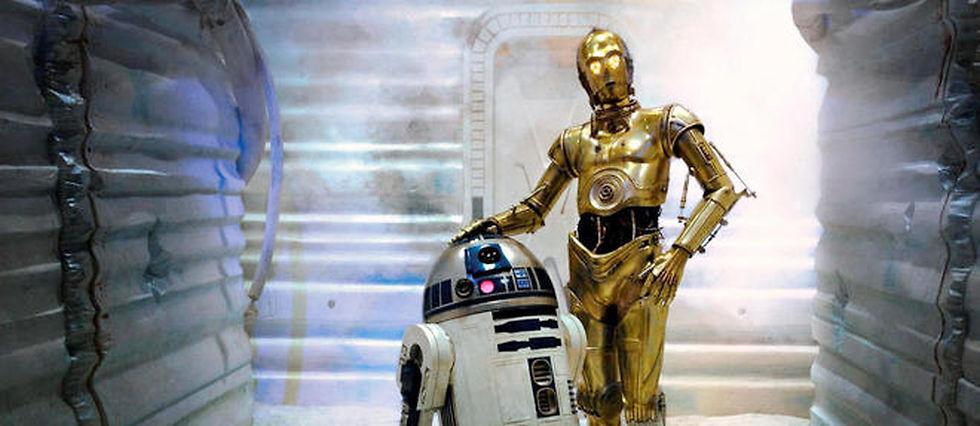 R2-D2 et C-3PO dans L'empire contre-attaque