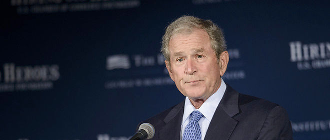 George W. Bush ne soutient pas Donald Trump.