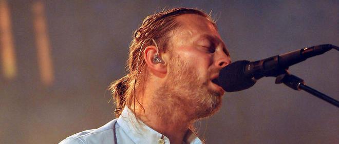 Thom Yorke, le leader du groupe Radiohead.