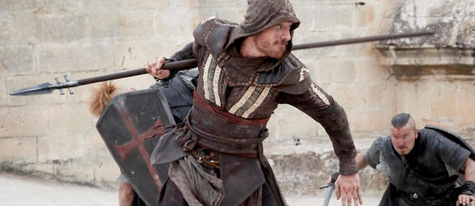 "Michael Fassbender dans ""Assassin's Creed""."