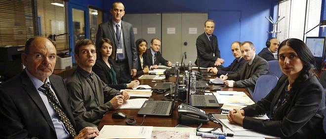 """Le bureau de la DGSE de la série """"Le Bureau des légendes"""", qui revient lundi soir sur Canal+ pour une nouvelle saison."""