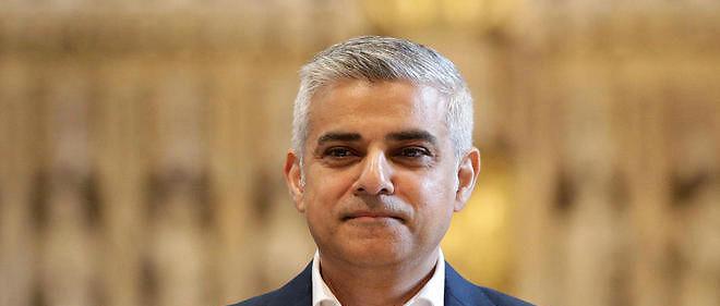 Le nouveau maire de Londres, Sadiq Khan, 45 ans, prête serment le 7 mai dernier.
