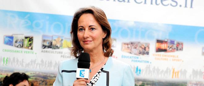 Ségolène Royal en 2012, à La Rochelle. Elle a présidé la région Poitou-Charentes de 2004 à 2014.