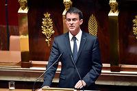 Le Premier ministre Manuel Valls. ©ERIC FEFERBERG