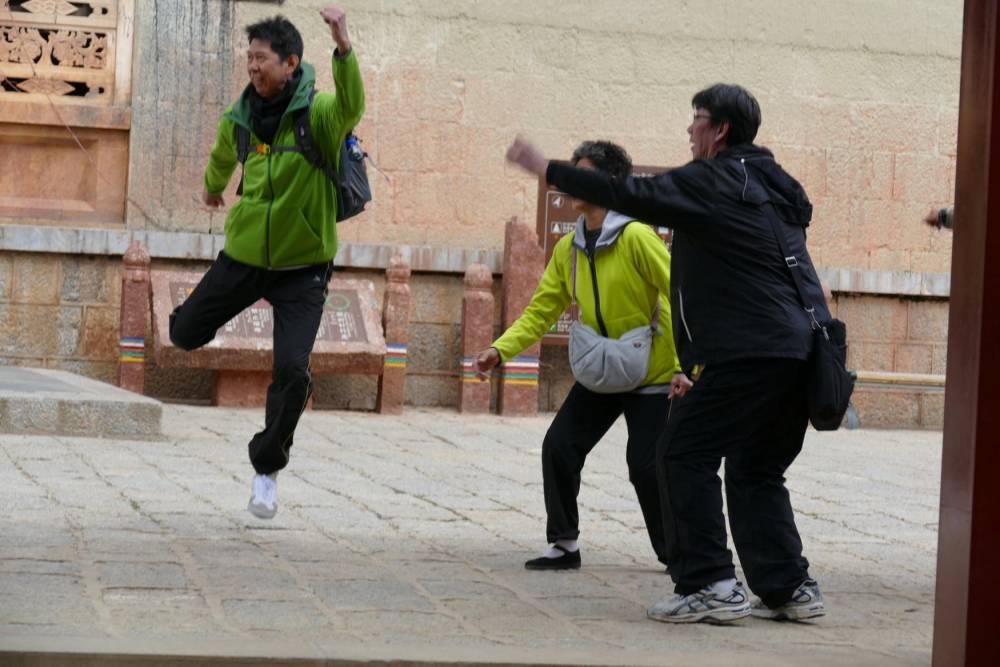 Touristes chinois ©  Katia Buffetrille