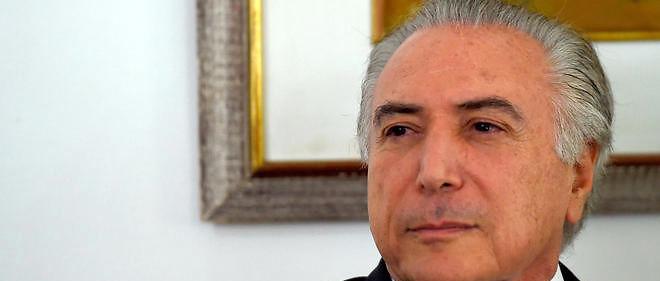 Le vice-président brésilien Michel Temer succède à Dilma Rousseff.