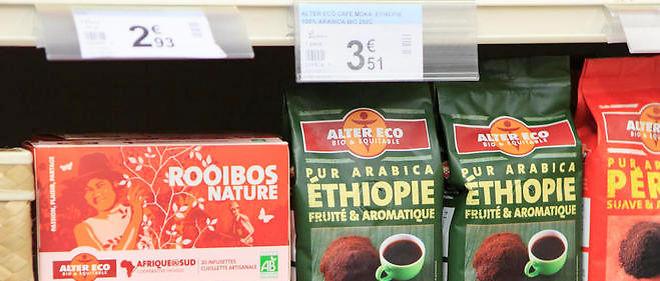 Moins de 10 euros sont dépensés par Français et par an dans le commerce équitable. Image d'illustration.
