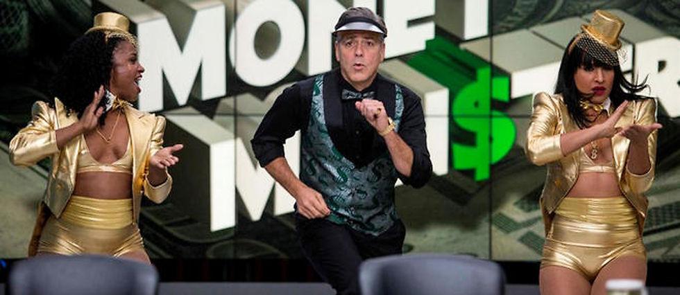 "George Clooney dans ""Money Monster""."