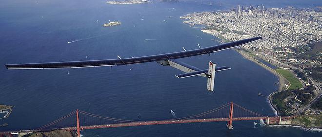 """""""L'objectif est de rallier New York le plus vite possible"""", avait indiqué mercredi l'équipe de Solar Impulse 2."""