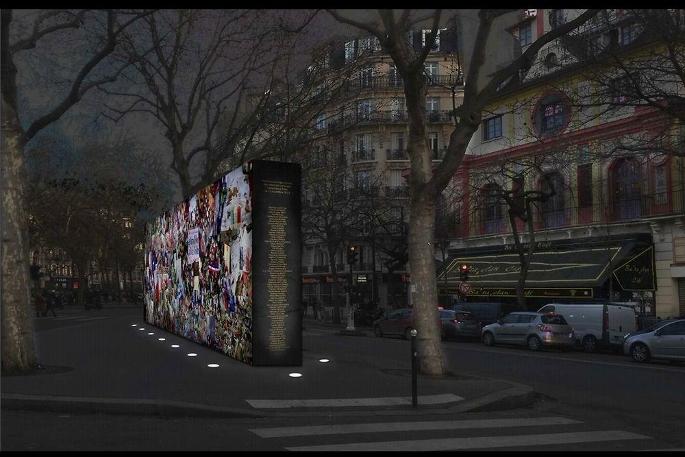 Mur de la liberté (P. Valent)