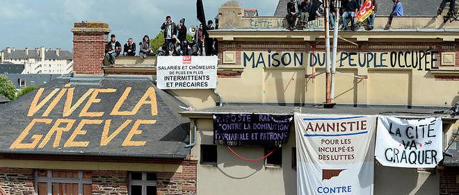 Depuis deux mois, Rennes a été le théâtre de manifestations parfois violentes contre la loi travail. Image d'illustration.