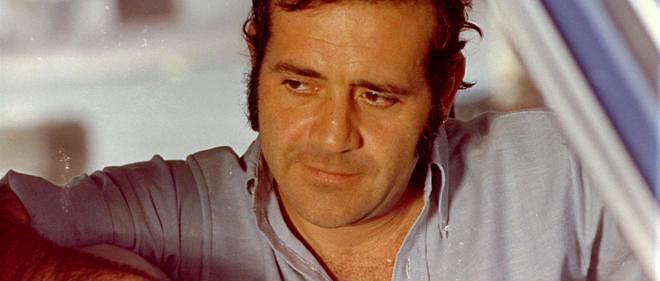Jean Yanne dans Nous ne vieillirons pas ensemble(1972) de Maurice Pialat. Le rôle lui a valu le prix d'interprétation à Cannes.