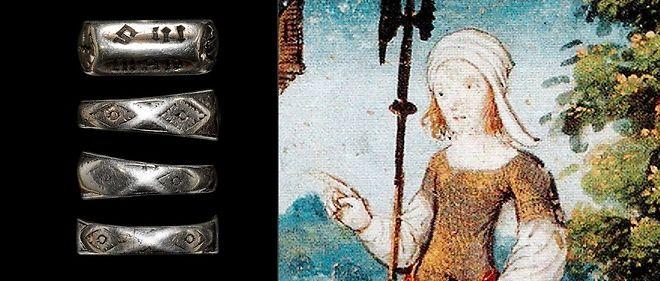 bien une autre chance haut de gamme véritable L'anneau de Jeanne d'Arc du Puy du Fou est vraisemblablement ...