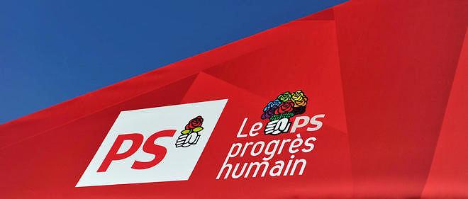 Le logo du Parti socialiste photographié en juin 2015 (image d'illustration).