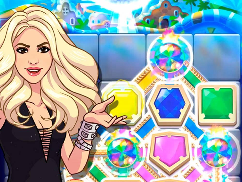 Shakira dans le jeu de Rovio ©  Rovio