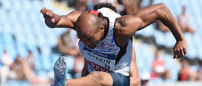 Gaël Quérin, membre de l'équipe de France de décathlon.