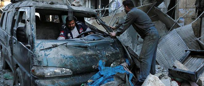 Les attaques continuent en Syrie. Image d'illustration.